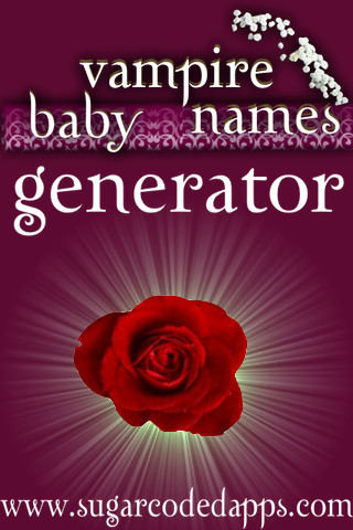 Vampire Name Genrator iPhone App | For fans of Twilight