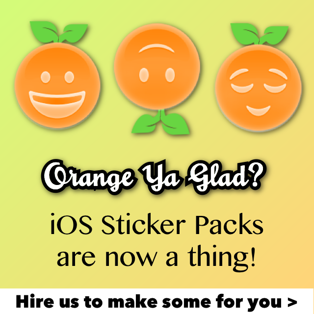 Hire us to make your iMessage Sticker Apps - Sugar Coded Apps.