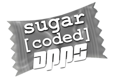 Sugar Coded Apps makes sweet digial stuff. www.sugarcodedapps.com
